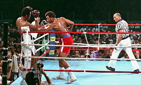 Ali Rope-a-Dope vs. Foreman 1974