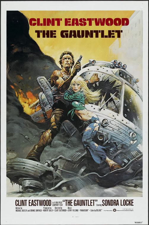 Movie Poster for The Gauntlet